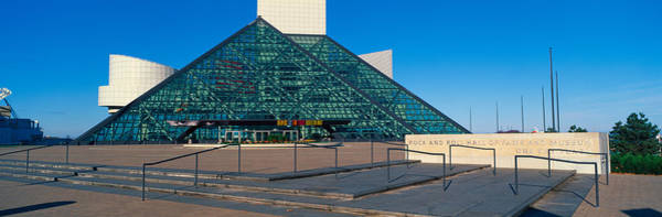 Cleveland Scene Photograph - Rock And Roll Hall Of Fame Museum by Panoramic Images