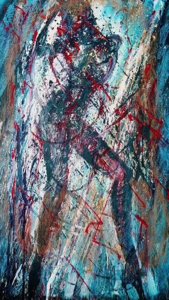 Wall Art - Painting - Rock And Roll by Jarmo Korhonen aka Jarko