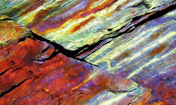 Rock Art 16 Art Print