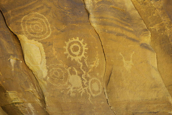 Photograph - Rock Art From Utah II by Craig Ratcliffe