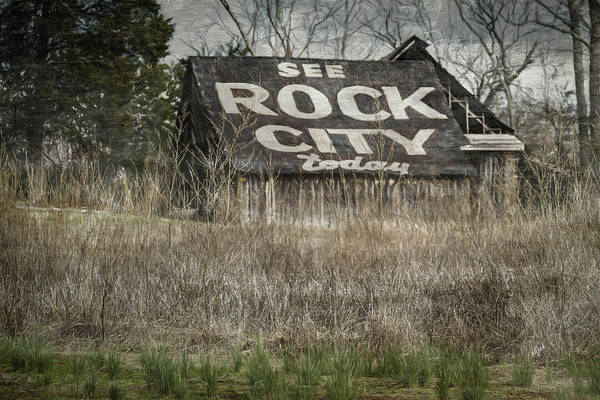 Hillside Wall Art - Digital Art - Rock City by Elijah Knight