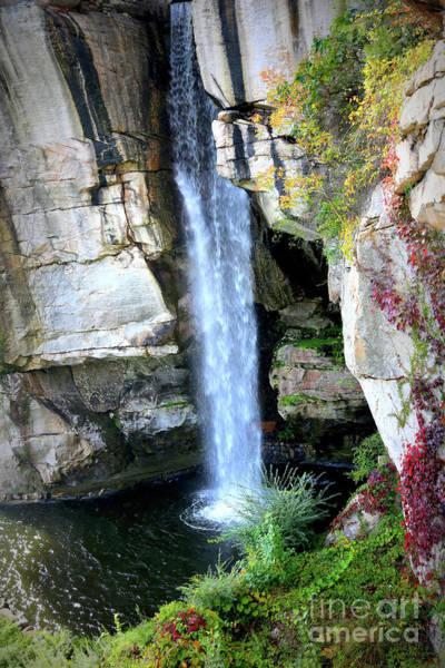 Photograph - Rock City Waterfall by Carol Groenen