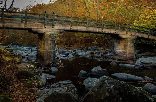 Photograph - Rock Creek Park Bridge by Ed Clark