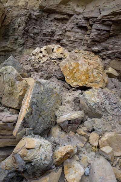 Photograph - Rock Fall by Alexander Kunz