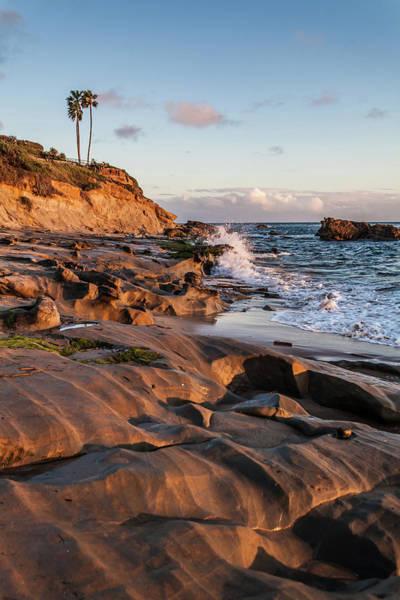 Photograph - Rock Formation Along The California Coast by Cliff Wassmann