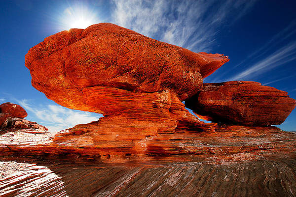 Photograph - Rock Formation by Harry Spitz
