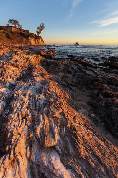 Photograph - Rock Formations At Corona Del Mar by Cliff Wassmann