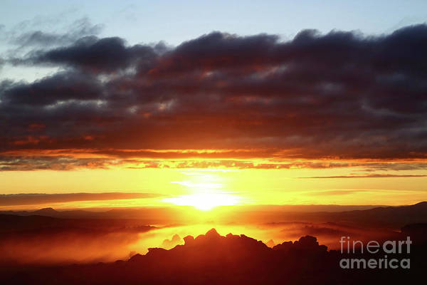 Wall Art - Photograph - Rock Formations At Sunrise North Lipez Bolivia by James Brunker