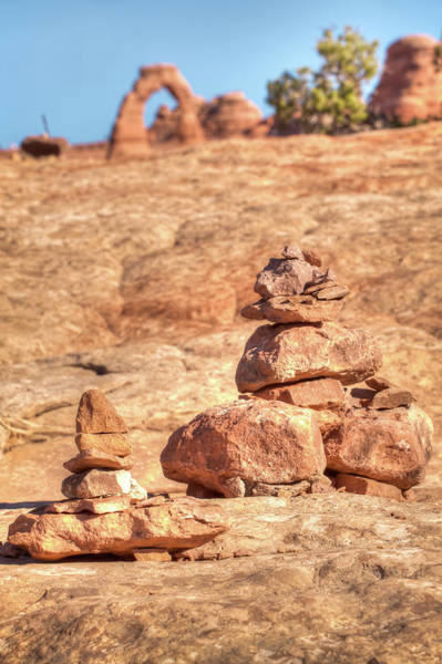 Photograph - Rock Formations - Delicate Arch - Moab Utah by Gregory Ballos