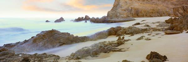 Baja California Peninsula Wall Art - Photograph - Rock Formations On Cerritos Beach by Panoramic Images