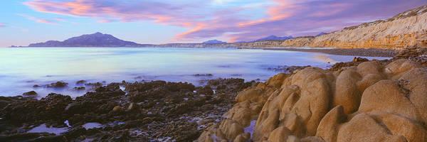 Baja California Peninsula Wall Art - Photograph - Rock Formations On Coast, Cabo Pulmo by Panoramic Images