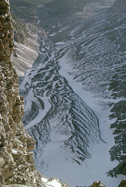 Photograph - M-11314-rock Glacier On Wheeler Peak, Nv by Ed  Cooper Photography