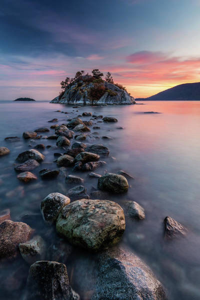 Photograph - Rock Hopping At High Tide by Pierre Leclerc Photography