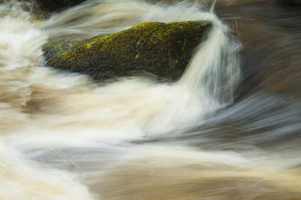 Aira Force Wall Art - Photograph - Rock In The River by Paul Cullen