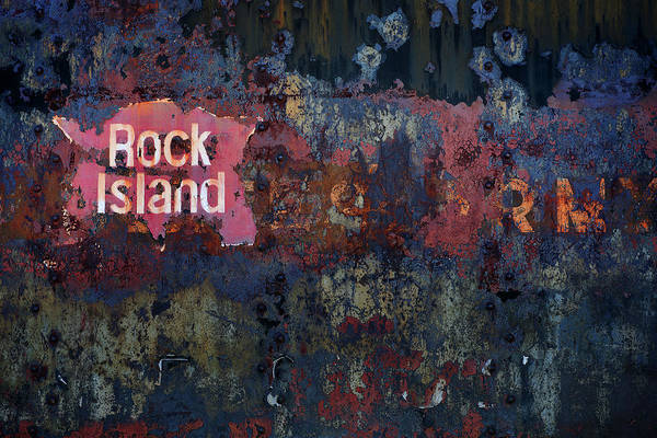 Photograph - Rock Island by Bud Simpson