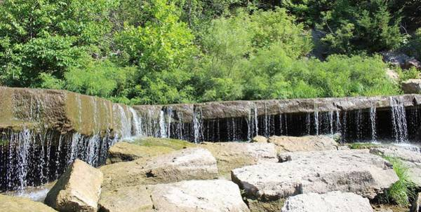 Wall Art - Photograph - Rock Ledge Falls by Weathered Wood