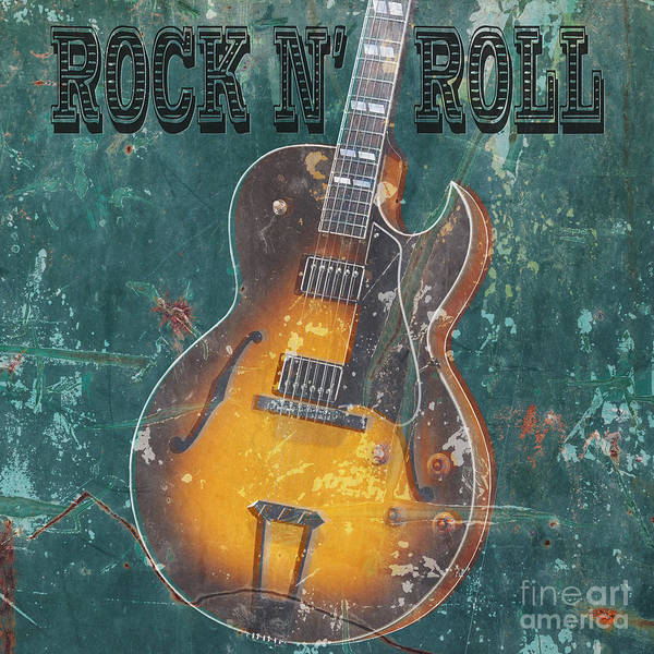 Digital Art - Rock N Roll by Edward Fielding