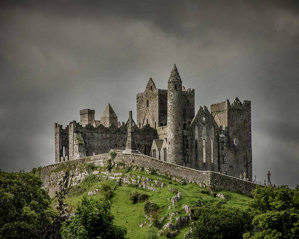 Photograph - Rock Of Cashel by Teresa Wilson
