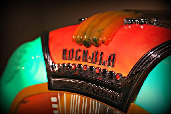 Photograph - Rock-ola  by Steve Natale