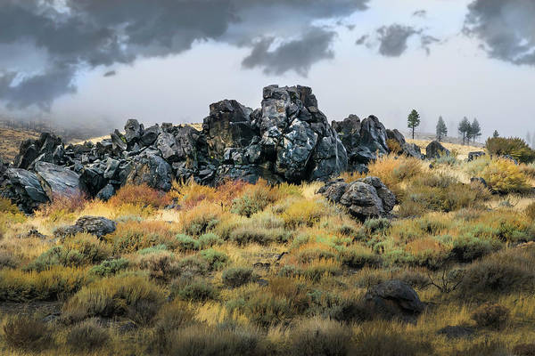 Wall Art - Photograph - Rock Outcrop by Frank Wilson