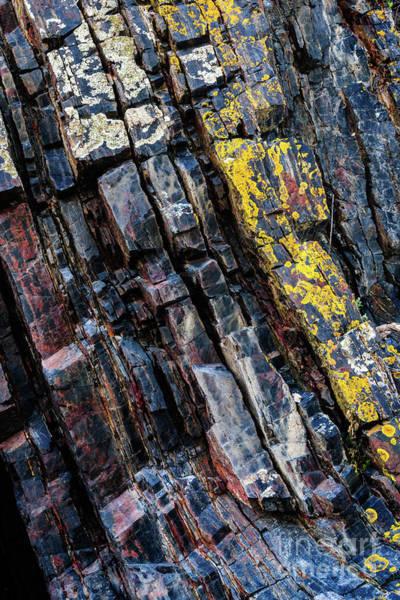 Photograph - Rock Pattern Sc02 by Werner Padarin