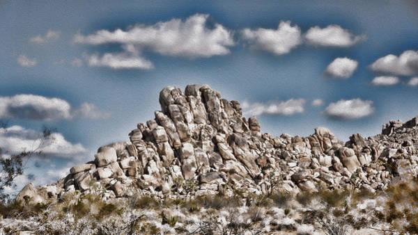Wall Art - Photograph - Rock Pile - Painterly by Stephen Stookey