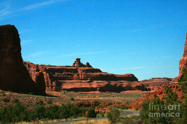 Wall Art - Photograph - Rock Pinnacle Arches National Park by Corey Ford