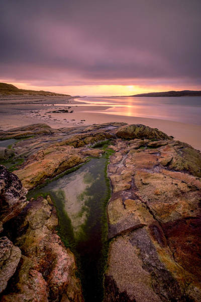Photograph - Rock Pools, Luskentyre, Harris by Neil Alexander