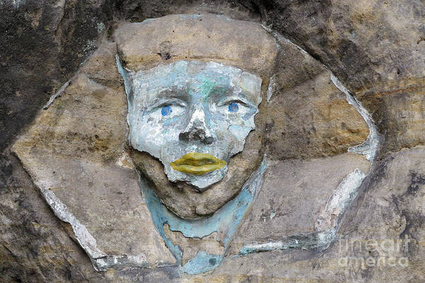 Wall Art - Photograph - Rock Relief - The Face Of The Sphinx by Michal Boubin