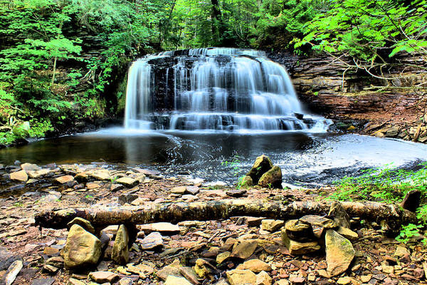 Wall Art - Photograph - Rock River Falls by Matthew Winn
