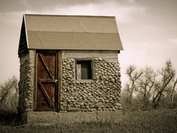 Photograph - Rock Shed 2 by Marilyn Hunt