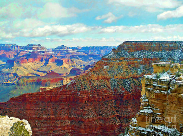 Photograph - Rock Solid Grand Canyon by Roberta Byram