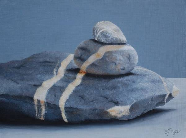 Painting - Rock Stack by Emily Page