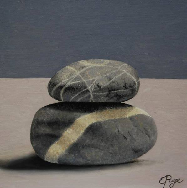 Painting - Rock Stack II by Emily Page