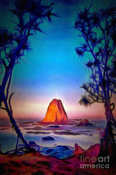 Painting - Rock Steady In Ambiance by Catherine Lott