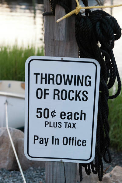 Photograph - Rock Throwing Charge by Dennis Dame
