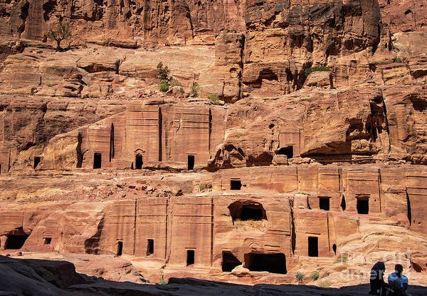 Photograph - Rock Village In Petra by Mae Wertz