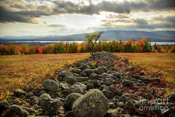 Photograph - Rock Wall by Alana Ranney
