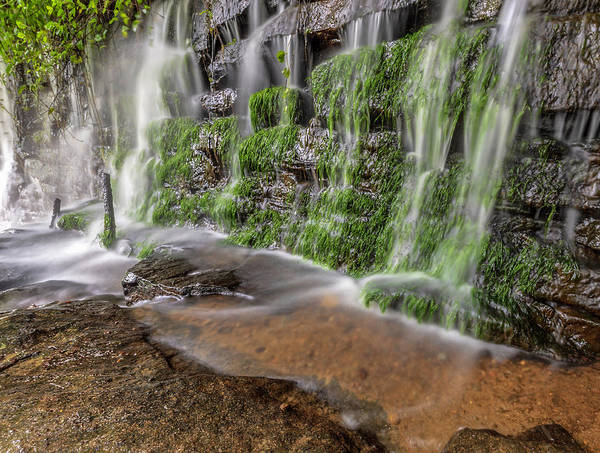 Photograph - Rock Wall Waterfall by Keith Smith