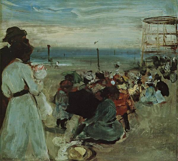 Painting - Rockaway Beach by Alfred Maurer
