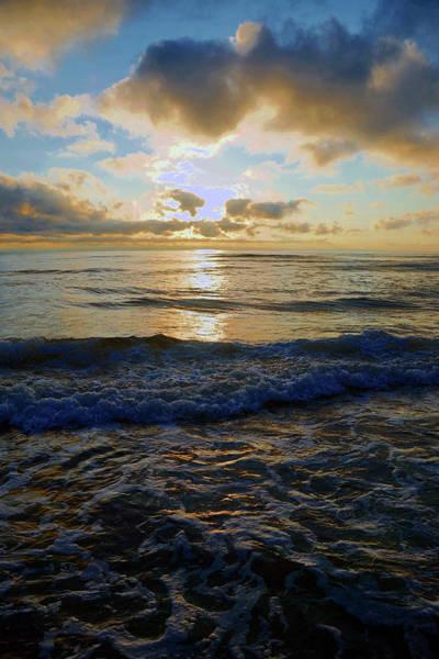 Photograph - Rockaway Sunset #3 Enhanced by Ben Upham III