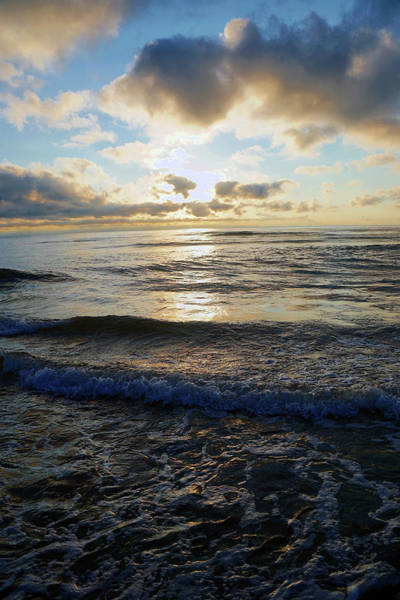 Photograph - Rockaway Sunset #4 Enhanced by Ben Upham III