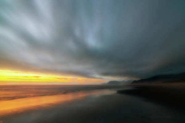 Marine Layer Photograph - Rockaway Sunset Bliss by Ryan Manuel