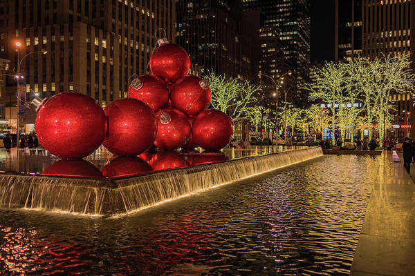 Photograph - Rockefeller Center  by Norman Peay
