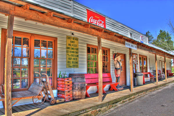 Photograph - Rockford General Store by Dale R Carlson