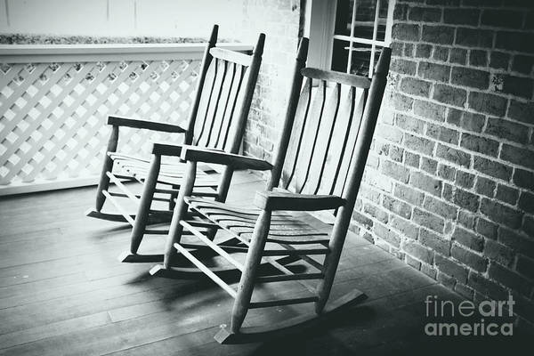 Photograph - Rocking Chair Time by Carol Groenen