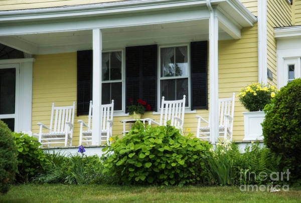 Photograph - Rocking Chairs by Alana Ranney