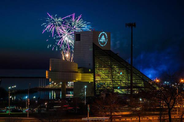 Photograph - Rocking Fireworks by Stewart Helberg