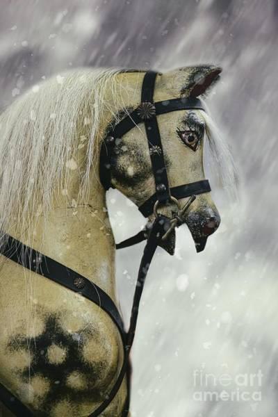 Painted Horses Photograph - Rocking Horse by Amanda Elwell