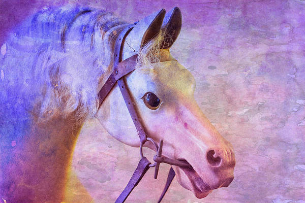 Digital Art - Rocking Horse Art by Clare Bambers